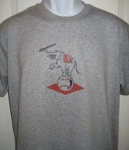 Philadelphia ATHLETICS 1954 Throwback T Shirt Large