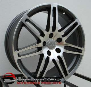 19 RS4 Wheels Rims Fit AUDI A3 A4 A6 B5 B6 B7