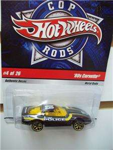 Hot Wheels police Car COP RODS #4 of 26