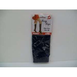 Navy Blue Sexy legs trouser socks  One size fits all