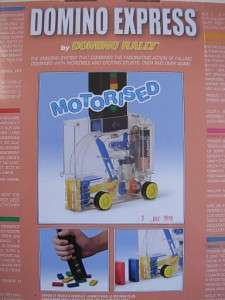 Motorized POWER DEALER DOMINO RALLY EXPRESS New game toy Sealed