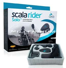 SCALA RIDER SOLO Bluetooth Motorcycle Motorbike Helmet Headset Mobile