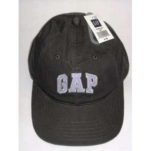 Gap Logo Black Baseball Cap Hat Size S/M Womens Mens