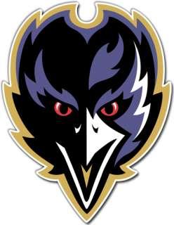 Baltimore Ravens NFL Football Decal Sticker