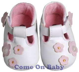 New born Infant Girls Toddler Baby Crib Shoes 0  3 m NB