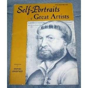 Self Portraits of Great Artists Stephen LONGSTREET Books