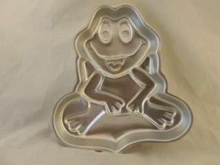 WILTON CAKE PAN MOLD FROG 1979 PRINCE POND LILYPAD EUC