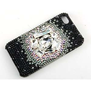 4S 4 Case Cover Swarovski Crystal Element Cell Phones & Accessories