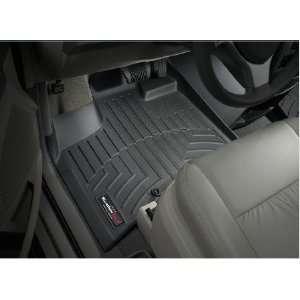 2008 2012 Dodge Grand Caravan Black WeatherTech Floor Liner (Full Set