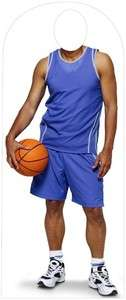 BASKETBALL PLAYER Cardboard Standup LIFESIZE PARTY PROP