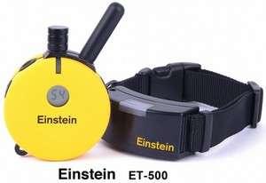 Einstein ET 500 Remote 1 Dog Training Collar with Night Tracking Light