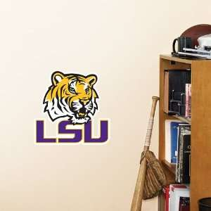 LSU Tigers Fathead Team Logo Official NCAA Wall Graphic 11