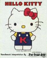 Sanrio Hello Kitty Cross Stitch Book 14 Designs *Rare*