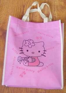 2X Brand New Cute Hello Kitty Non Woven Shopping Hand Bag