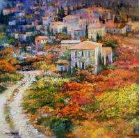 TUSCANY HOWARD BEHRENS EMBELL CANVAS Florence Italy HS