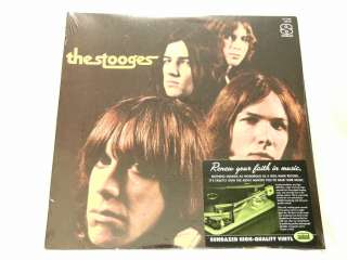 THE STOOGES self titled Iggy Pop Ron Scott Asheton NEW SEALED LP