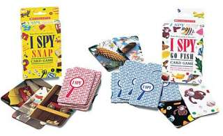 Styles I Spy SNAP or Go Fish Card Game Ages 5+ visual tracking