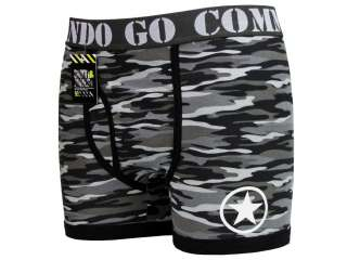 Mens Smith & Jones Boxer Shorts Boxers Camo Gogo Commando