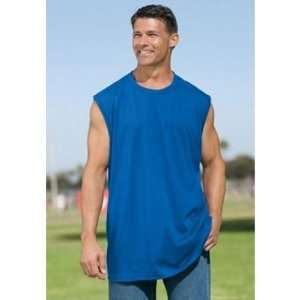 Mens Irregular Black Muscle Shirts Assorted Sizes Case