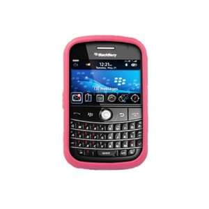 Silicone Grip Case   BlackBerry Bold 9000   Pink Cell