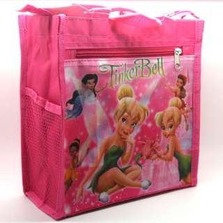 Tinkerbell Fairy Bento Lunch Box TOTE Hand Bag #2