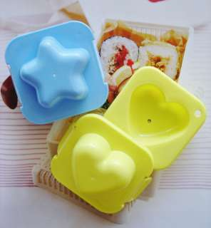 W/ ORDER OF BENTO LUNCH BOX SET JAPANESE EGG MOLD 2pcs