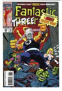 FANTASTIC FOUR #383 Human Torch Invisible Woman 9.6