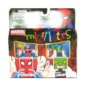com Minimates Six Armed Spider man & Silver Age Lizard Toys & Games