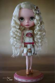 OOAK Mohair Re Rooted Custom Restored Vintage 1972 Kenner Blythe Doll