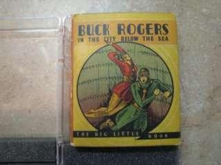 BIG LITTLE BOOK Buck Rogers in the CITY BELOW THE SEA #765 1934