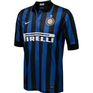 Inter Milan Black Nike Replica Home Jersey