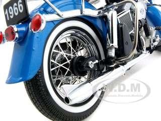 1966 HARLEY DAVIDSON FLH ELECTRA GLIDE 110 HI FI BLUE