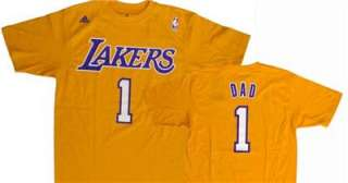 LA Lakers Dad T Shirt Father Day Laker gift ALL SIZES