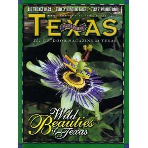Texas Parks & Wildlife March 2001: Texas Parks & Wildlife: Books