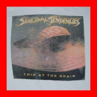 1988 Vtg SUICIDAL TENDENCIES T SHIRT tour 80s ORIGINAL
