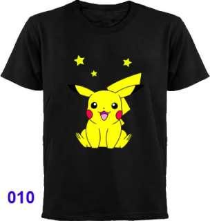 New POKEMON T Shirt ~ Pikachu Bulbasaur Charizard etc