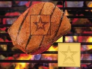 Dallas Cowboys NFL Logo BBQ Grill Meat Branding Iron