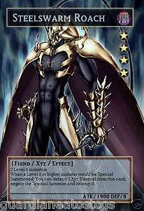 Yugioh Steelswarm Roach L@@K ORICA HOT CUSTOM ART x1 ~