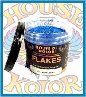 HOUSE OF KOLOR F22 ROYAL BLUE METAL FLAKES Custom Paint
