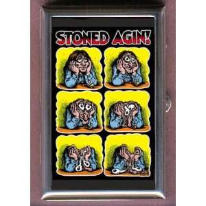 STONED POSTER DRUGS FUNNY CUTE Coin, Mint or Pill Box