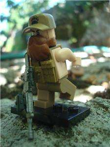 LEGO GI JOE CUSTOM MINIFIG BLACKWATER OPERATOR SPEC OPS