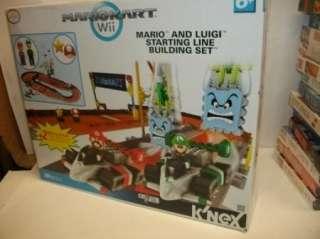KNEX Mario Kart Wii MARIO & LUIGI STARTING LINE set kit