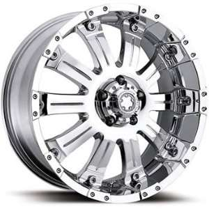 Mammouth 20x9 Chrome Wheel / Rim 8x170 with a 18mm Offset and a 130.18