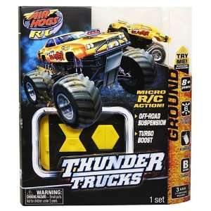 Air Hogs R/C Micro R/C Thunder Trucks [Master Blaster] Toys & Games