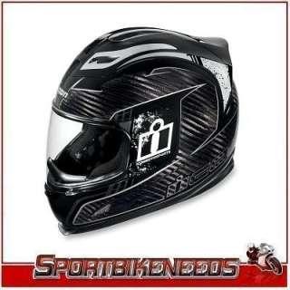 Icon Airframe Lifeform Carbon Black Helmet XLarge XL