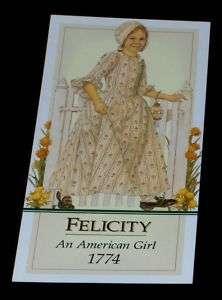 FELICITY BOOKMARK AMERICAN GIRL PARTY FAVOR~GIFT BAG