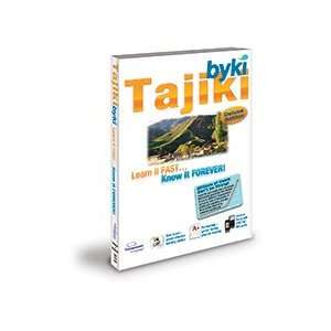 Byki Tajiki Language Tutor Software & Audio Learning CD