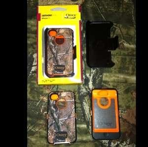 Otterbox Defender AP REALTREE CAMO & ORANGE fits iPhone 4 & 4s
