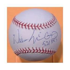 Autographed Willie McCovey Baseball   San Francsico 521