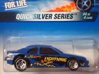 Hot Wheels 1997 Quicksilver Series T Bird Stock Car